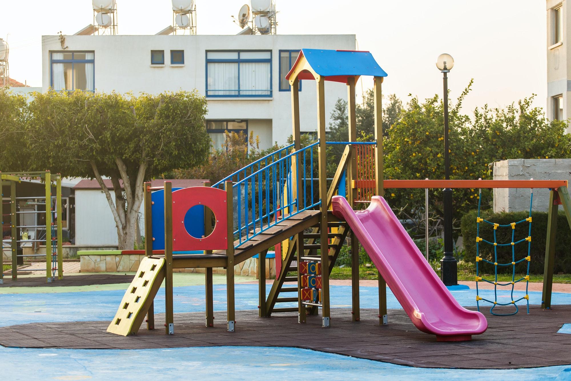 Children's playground outdoor